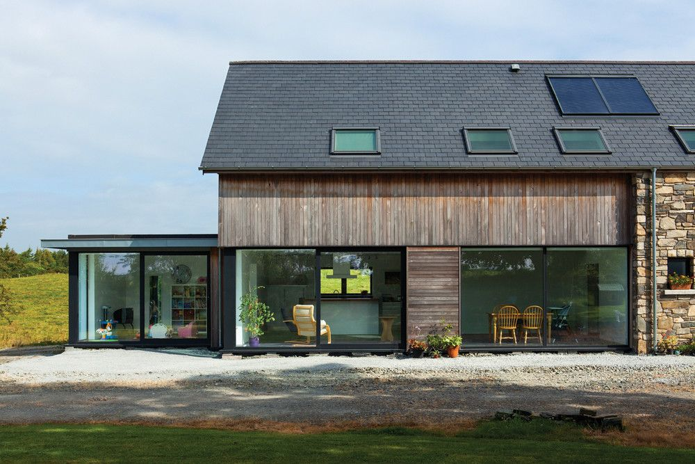 Eco Houses Architect Designed Sustainable Passive House Downpatrick Eco House Architect House Eco House Design