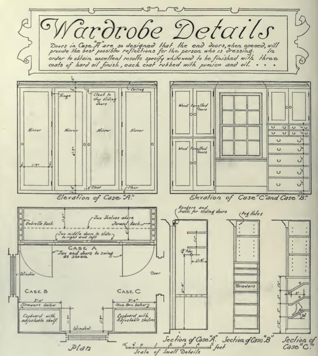 Wardrobes 1920s Builtins Craftsman Online Research