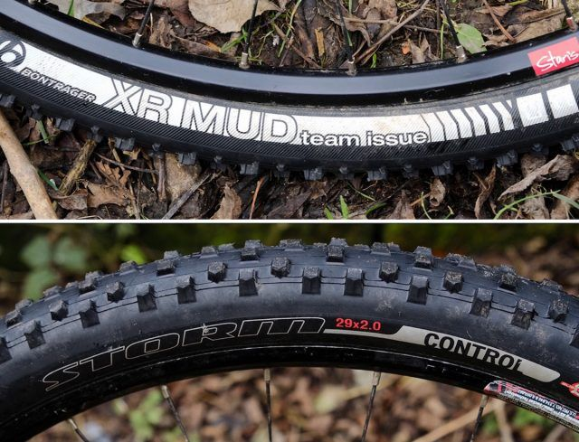 Tyre Review Bontrager Xr Mud Vs Specialized Storm Control Mud