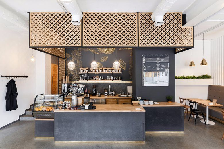 Fabryka Kavy Coffee Shop Picture Gallery Modern Coffee Shop
