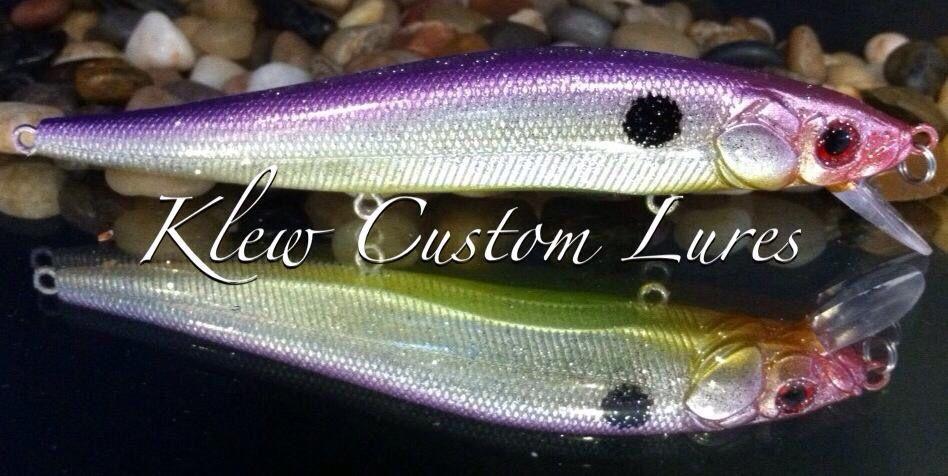 Custom Painted Lure - Jerkbait Series