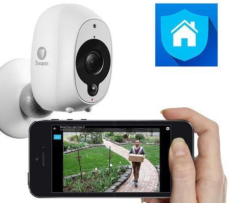 Get The Swann Cam Now Newhometechnology Cctv Camera Smartphone Apps Wifi Camera