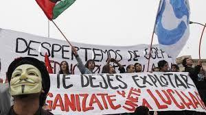 """Résultat de recherche d'images pour """"mouvement étudiants chiliens"""""""