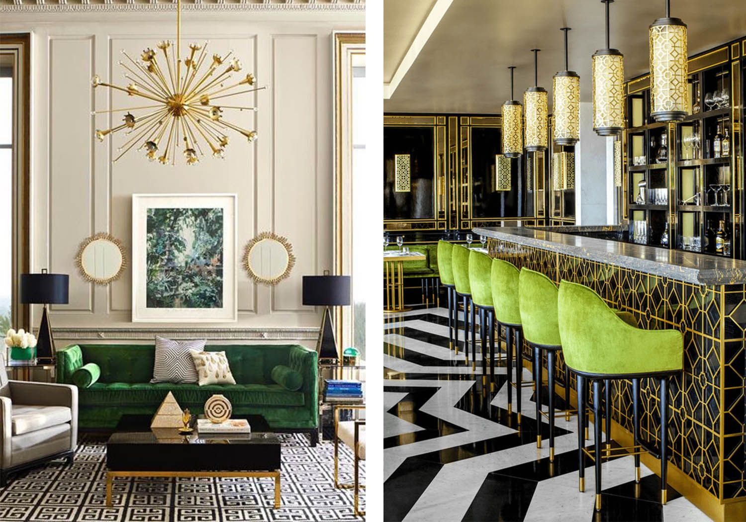 10 Design Trends That Will Be Hot In 2017. Contemporary Living RoomsSitting  ...