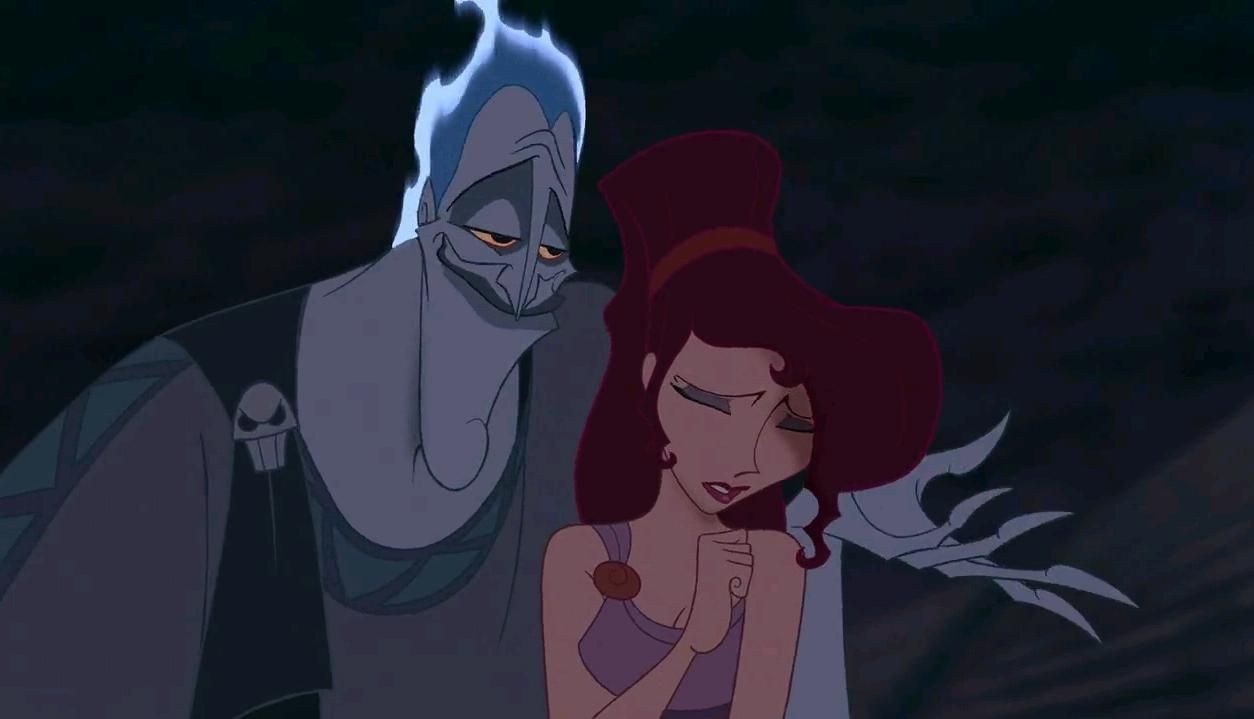 Meg's secret. Disney - Hercules