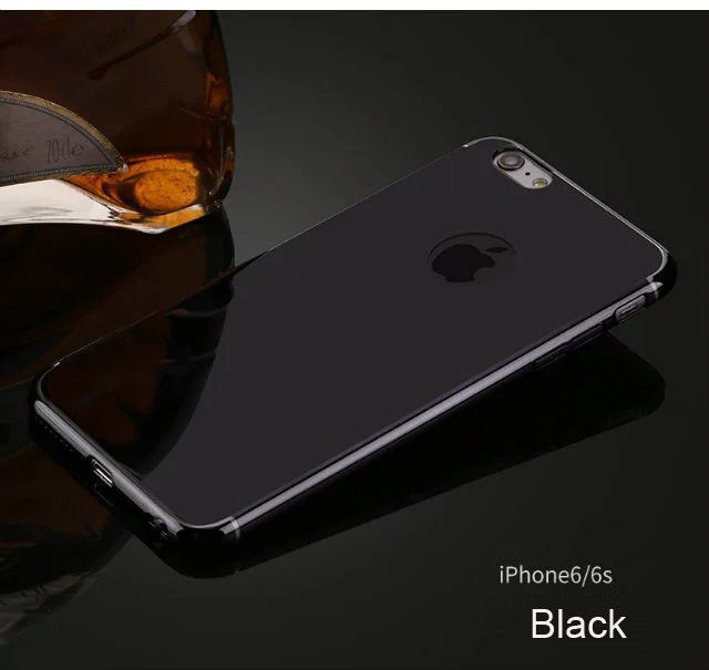 6S Mirror Metal Plating Case Back Cover