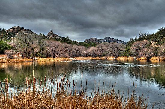 Winter Colors At Granite Basin Lake By Diana Graves Photography