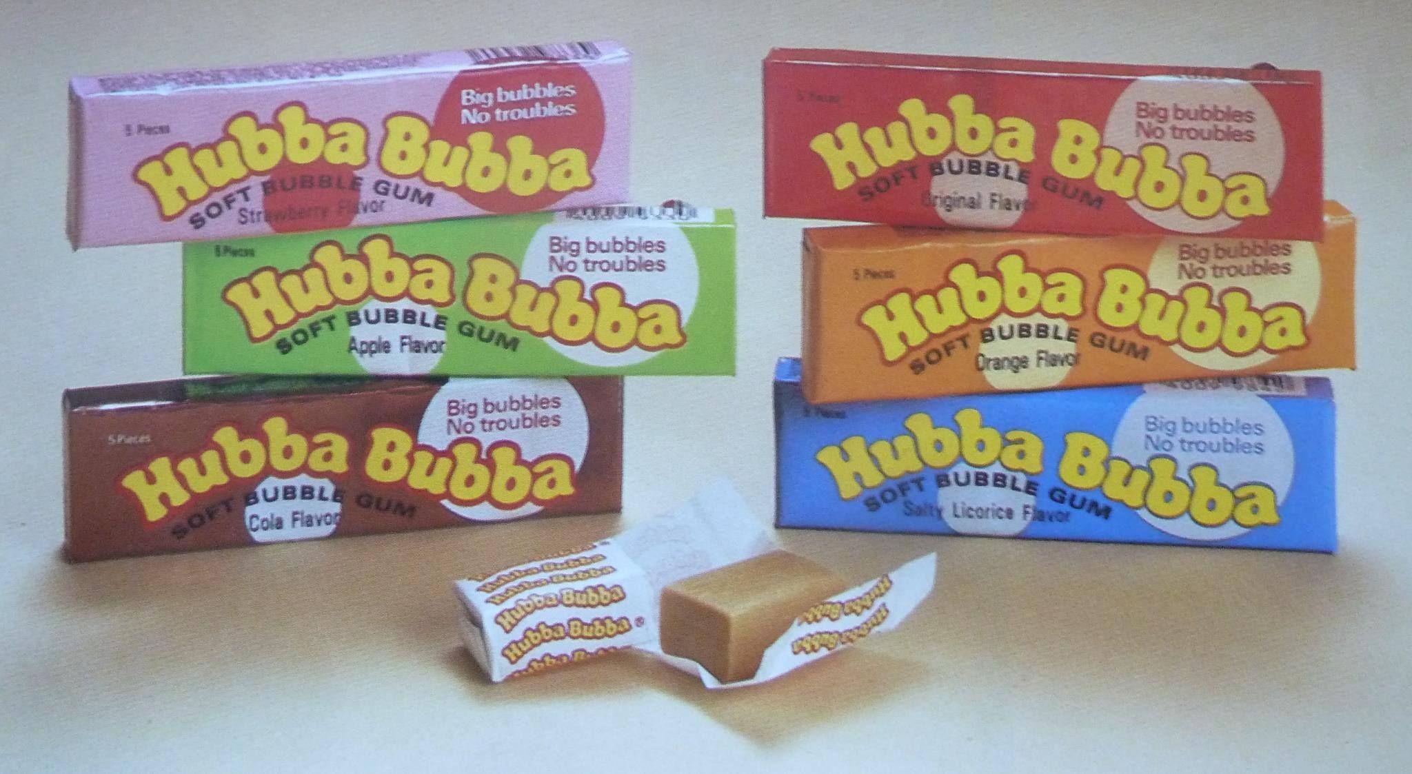 Hubbabubba Hubba Bubba Old School Toys