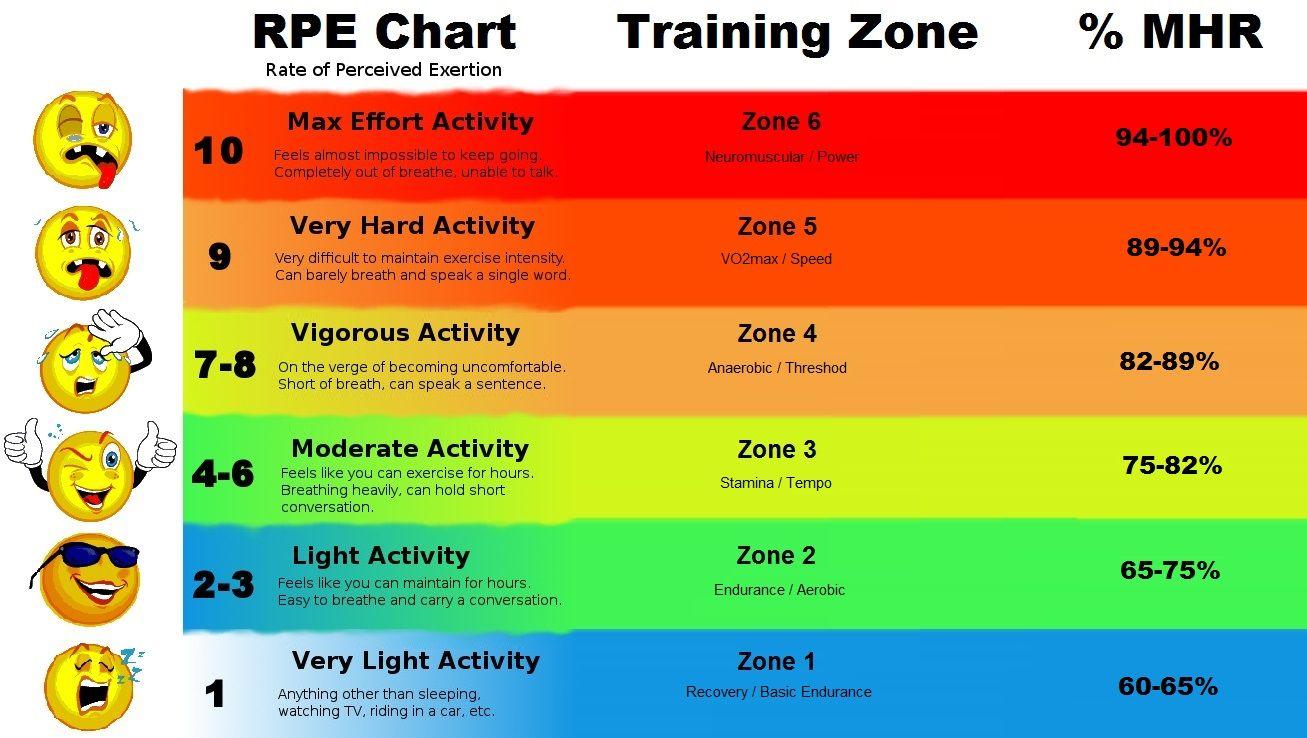 Image result for training zones