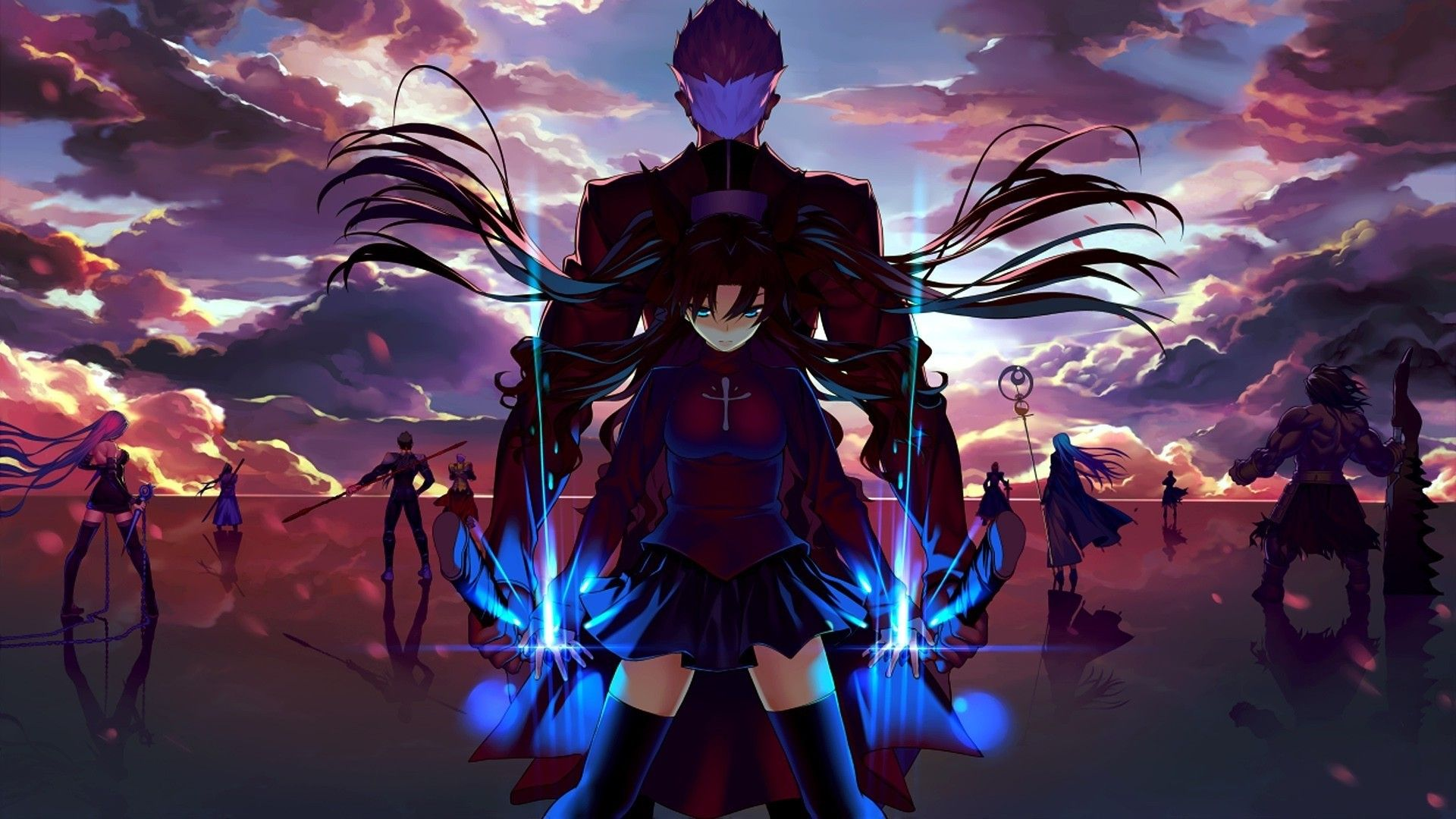 4k Anime Desktop Wallpaper Fate Stay Night Anime Anime Wallpaper 1920x1080 Fate Stay Night Rin