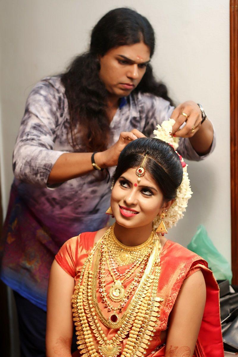 kerala bridal makeup look Google Search Indian bridal