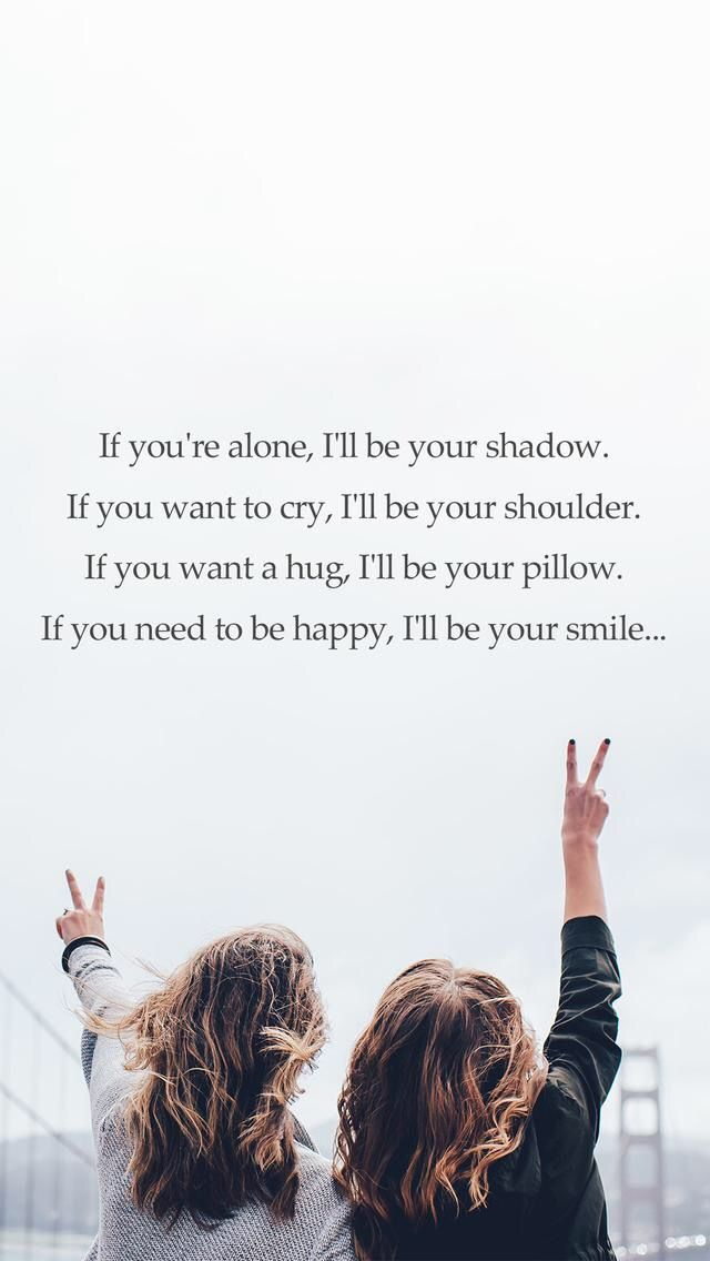 Pin By Lisa On Empty Friendship Quotes Wallpapers Best Friend Wallpaper Friends Wallpaper