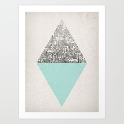 Diamond Art Print by David Fleck | Society6