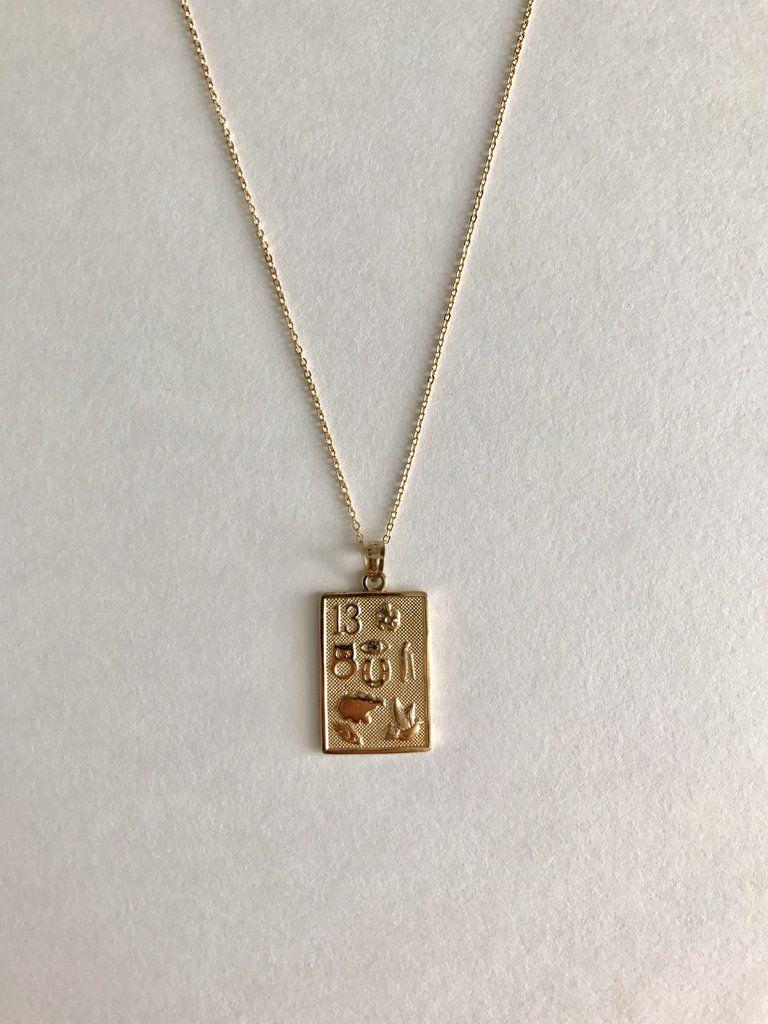 Bagatiba - 14K Lucky Charm Necklace 59cc60489bcbe