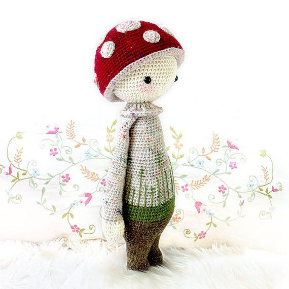Free ariations on Lalylala dolls | Juguetes de ganchillo, Muñeca ... | 570x570