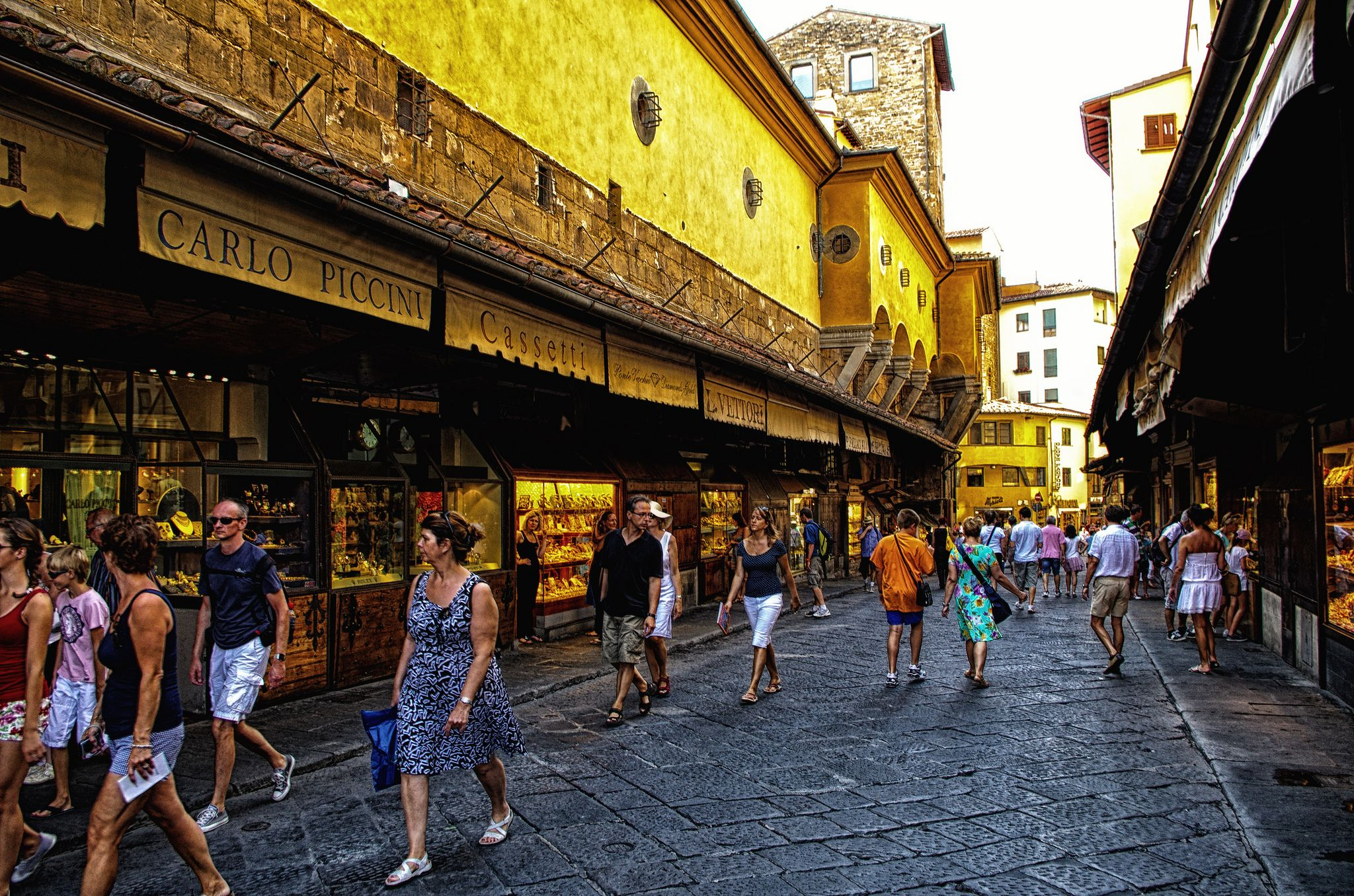 https://flic.kr/p/dgFKnr | Italy Florence Italy Florence Ponte Vecchio /2/ August 2012 | Color of gold