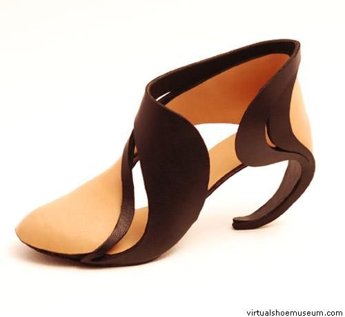 Art Shoe -- I wish this was purchasable. Winding Volutes nr. 1 | susanna…