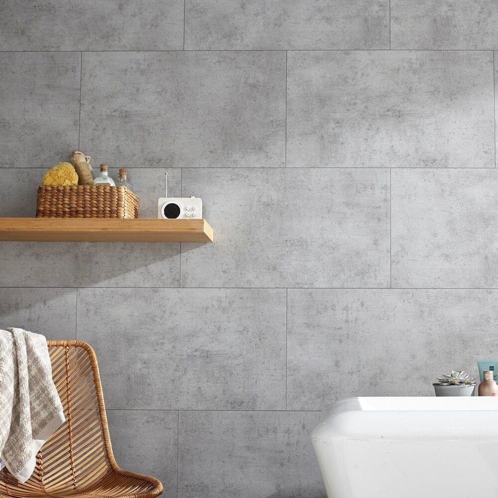 Dusky Shale x 25.59 in Vinyl Interlocking Waterproof Wall Tile//Backsplash DumaWall 14.76 in 8 Pack
