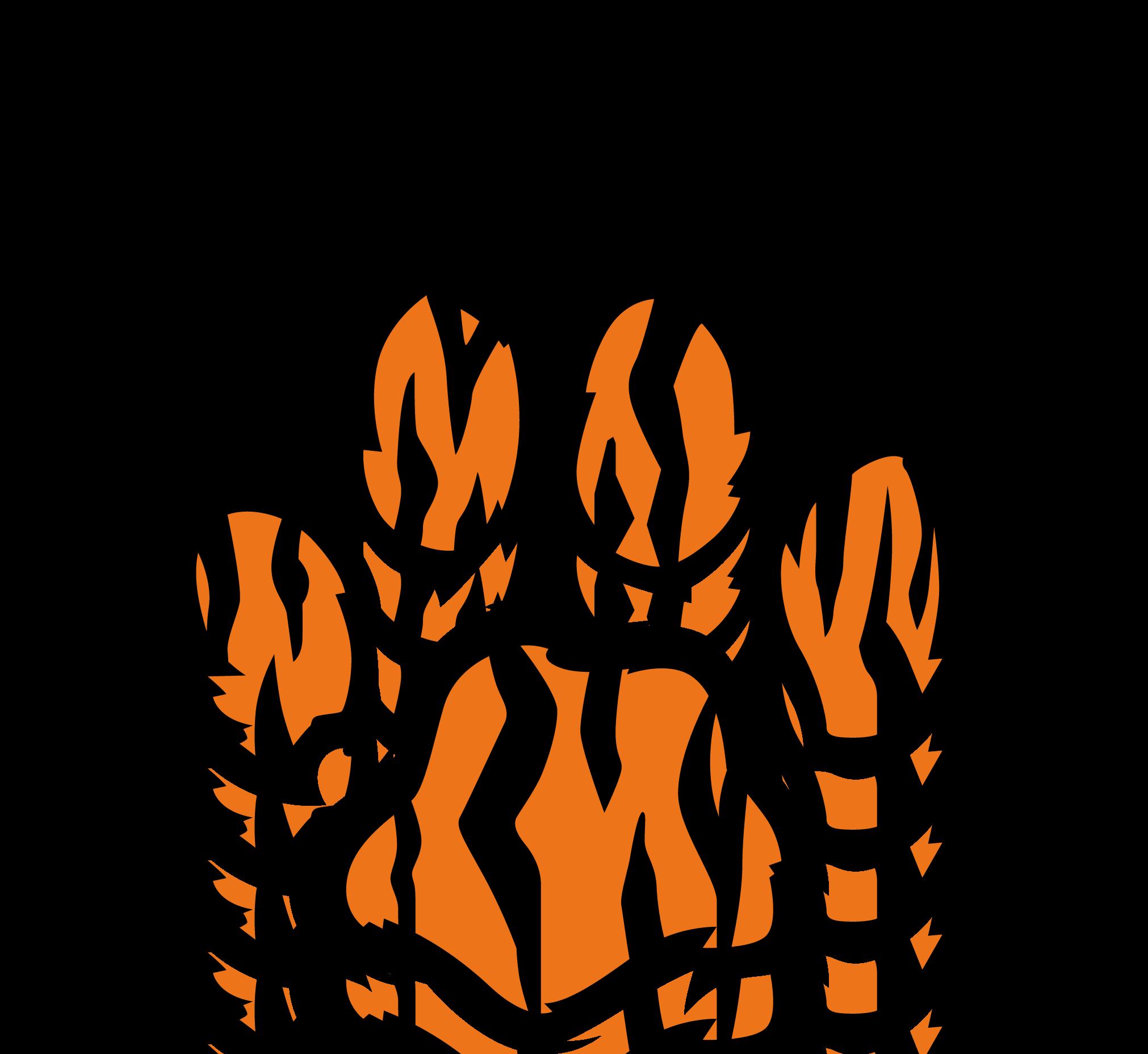 3 Dog Paw Vector Tracks Design Illustration art design