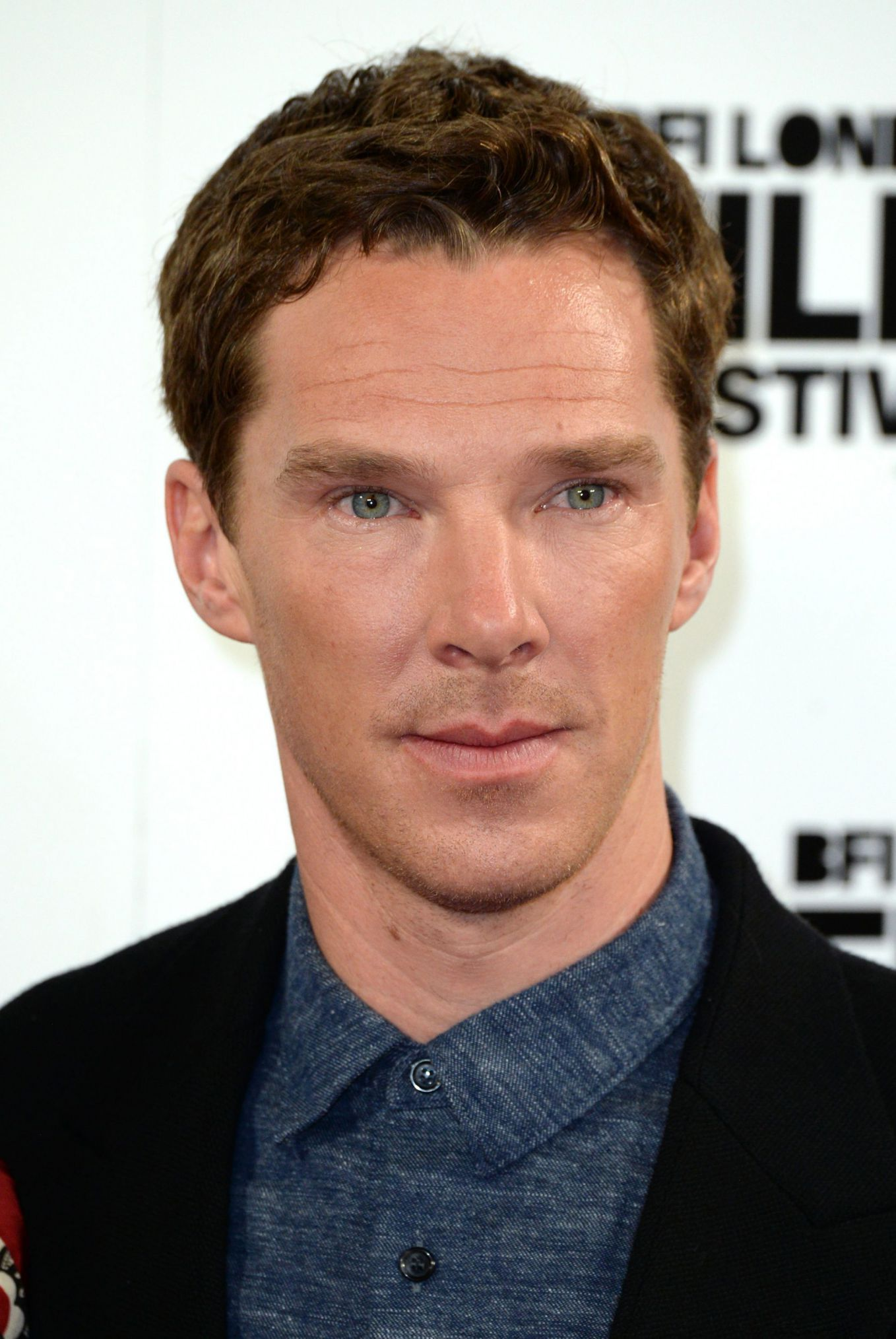 "Benedict Cumberbatch en el estreno ""The Imitation Game"""
