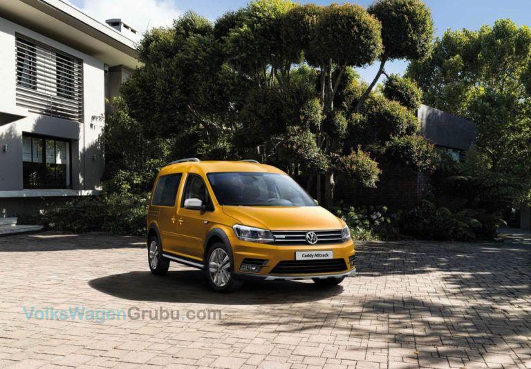 Yeni Volkswagen Caddy Alltrack Volkswagen