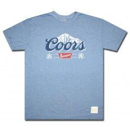Official Coors Banquet Classic Logo T Shirt.