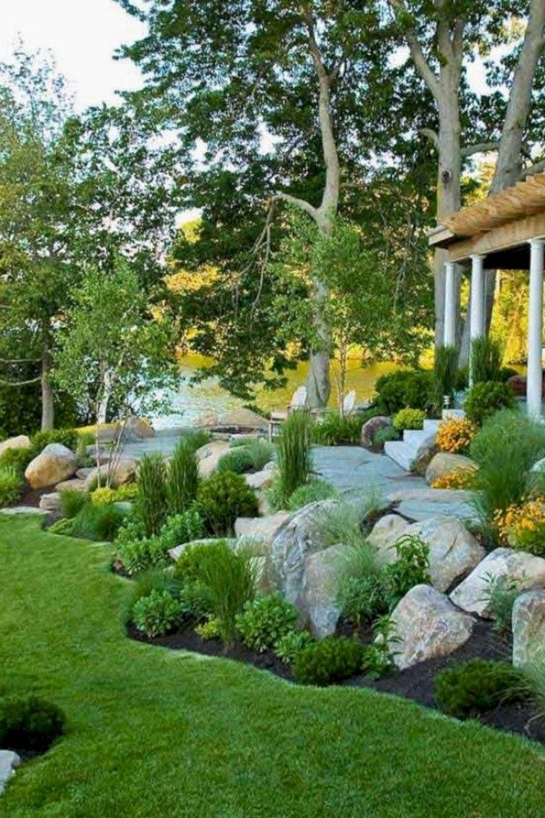 35 Beautiful Landscaping Ideas That Will Beautiful Your Yard Backyard Landscaping Designs Backyard Landscaping Landscape Design