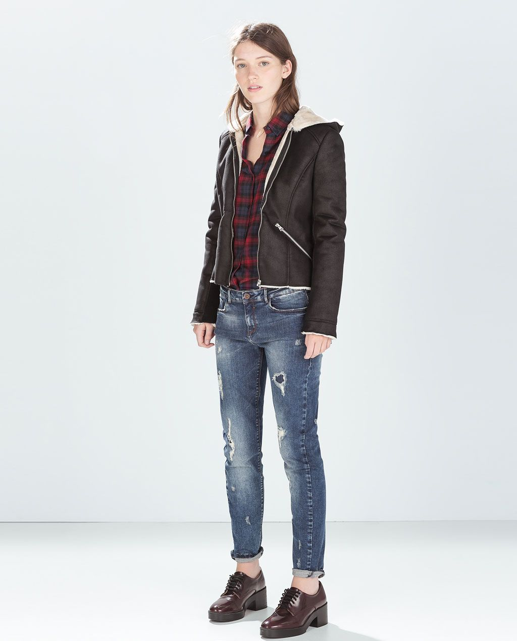 Catalogo Zara Zara New This Week Cigarette Jeans Fall 14 Otoño Invierno
