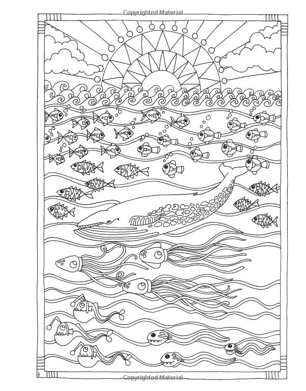 Amazon Angela Porters Zen Doodle Animal Tangles New York Times Bestselling Artists DoodleAdult ColoringColoring BooksNew