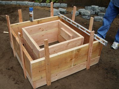 DIY - neat outdoor fire pit - easy to moderate to build