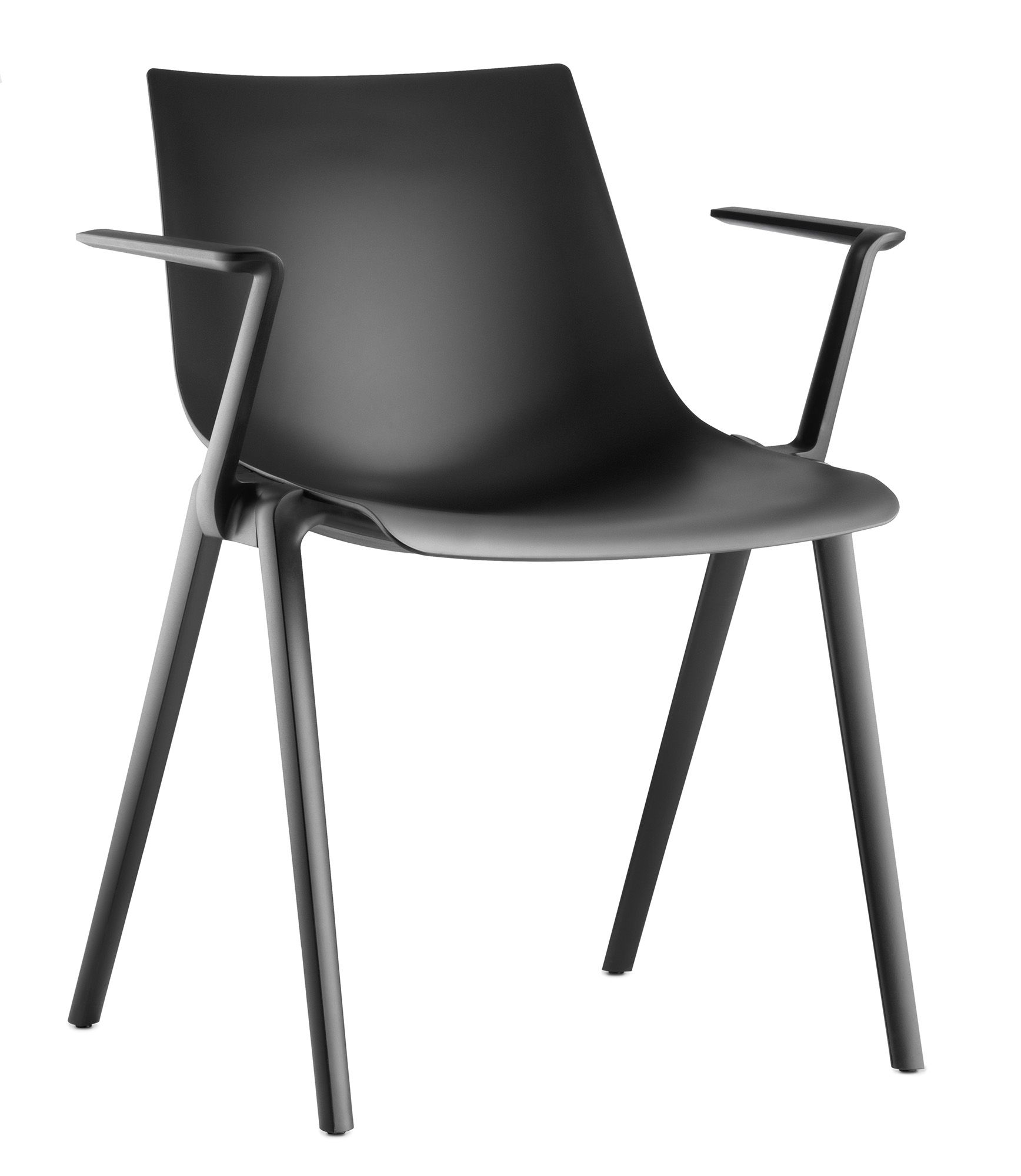 Aula stackable chair meeting and side chair