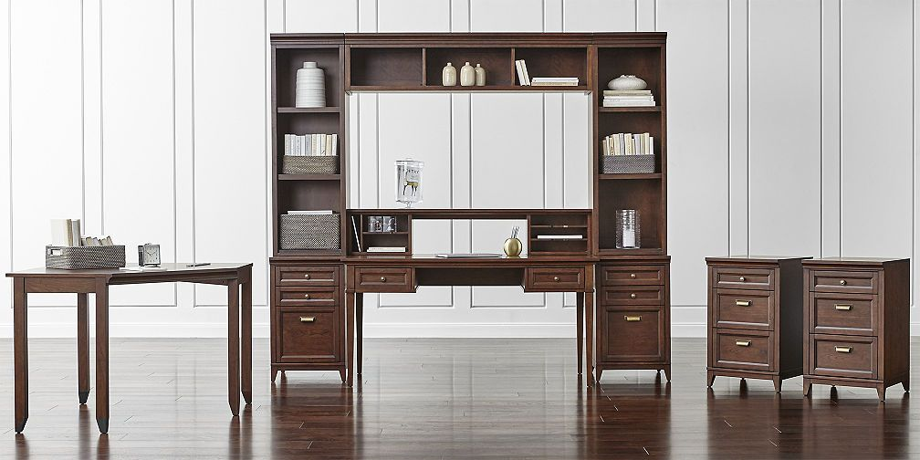 Harrison Cherry Modular Home Office Collection