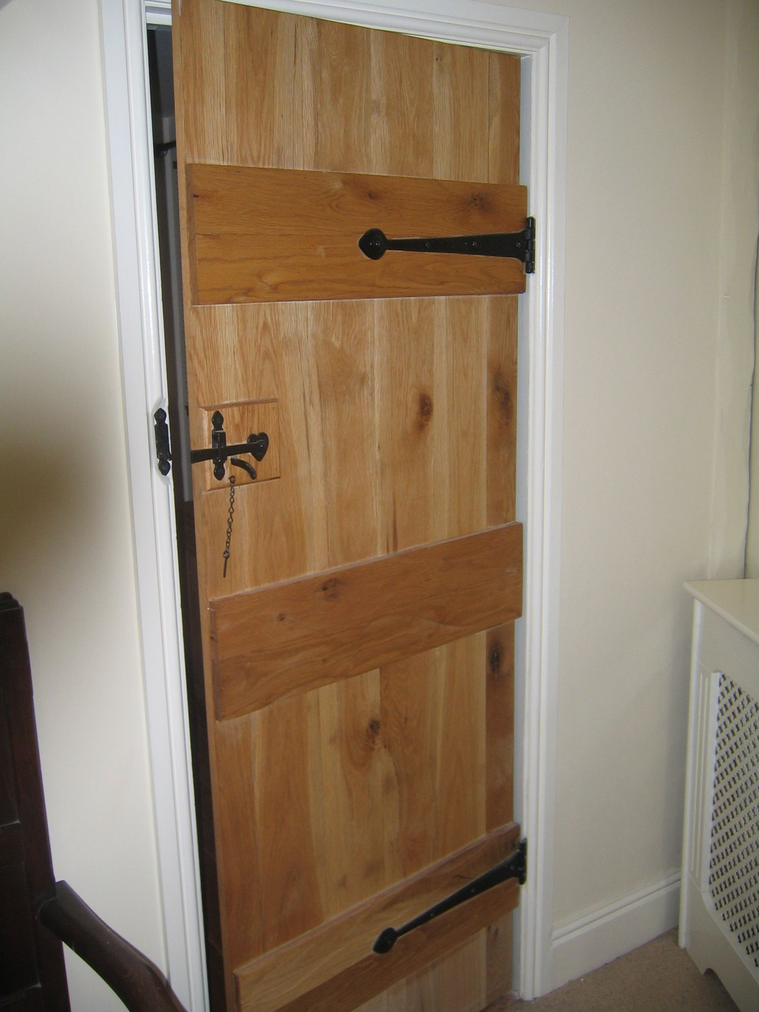 Wooden Internal Doors With: 3 Ledged Door Also Known As The