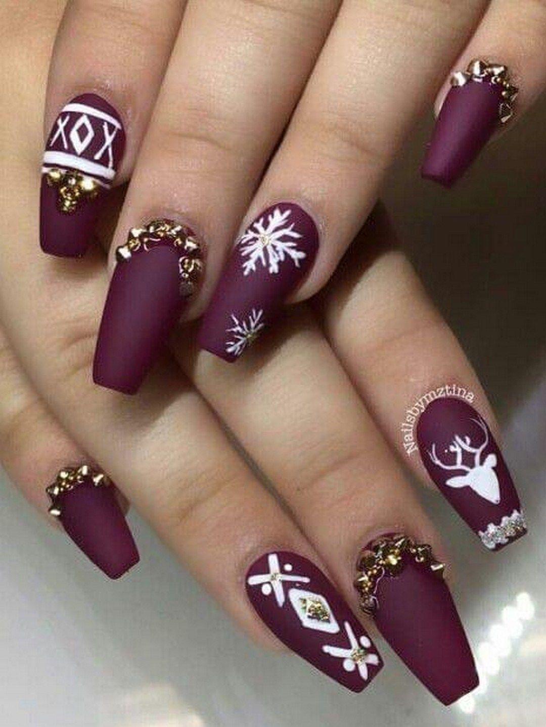 Fun Nail Designs For Winter 2019 Nail Designs Christmas Nails