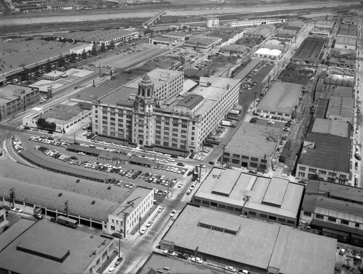Full Record Vernon California Paris Skyline Photo