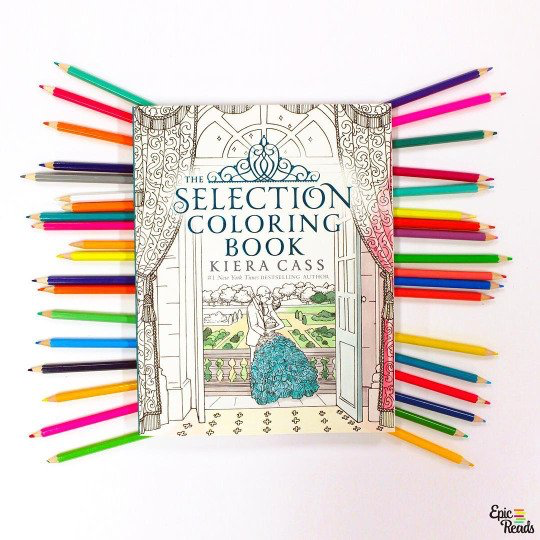 The Selection Coloring Book Theselection Pinterest Coloring
