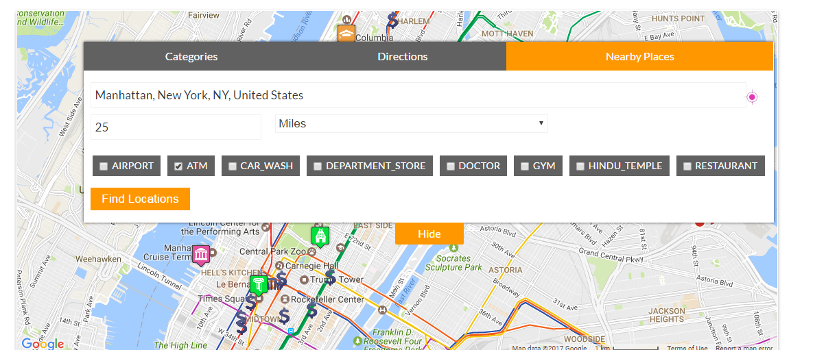 Advanced Google Maps Plugin For Wordpress By Flippercode This Google Maps Plugin For Wordpress Is The Most Advanced Google Maps Plugin Google Maps Plugins Map