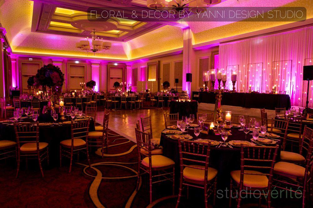 Breathtaking Wedding Reception Decor In The Jw Marriott Hotel In