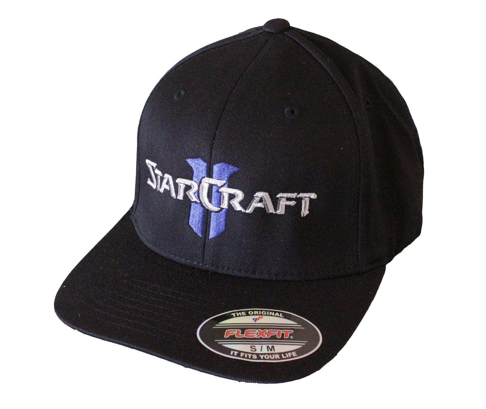ad692144 Starcraft II Logo baseball Flexfit Cap Hat | Nerd Wear/Accessories ...