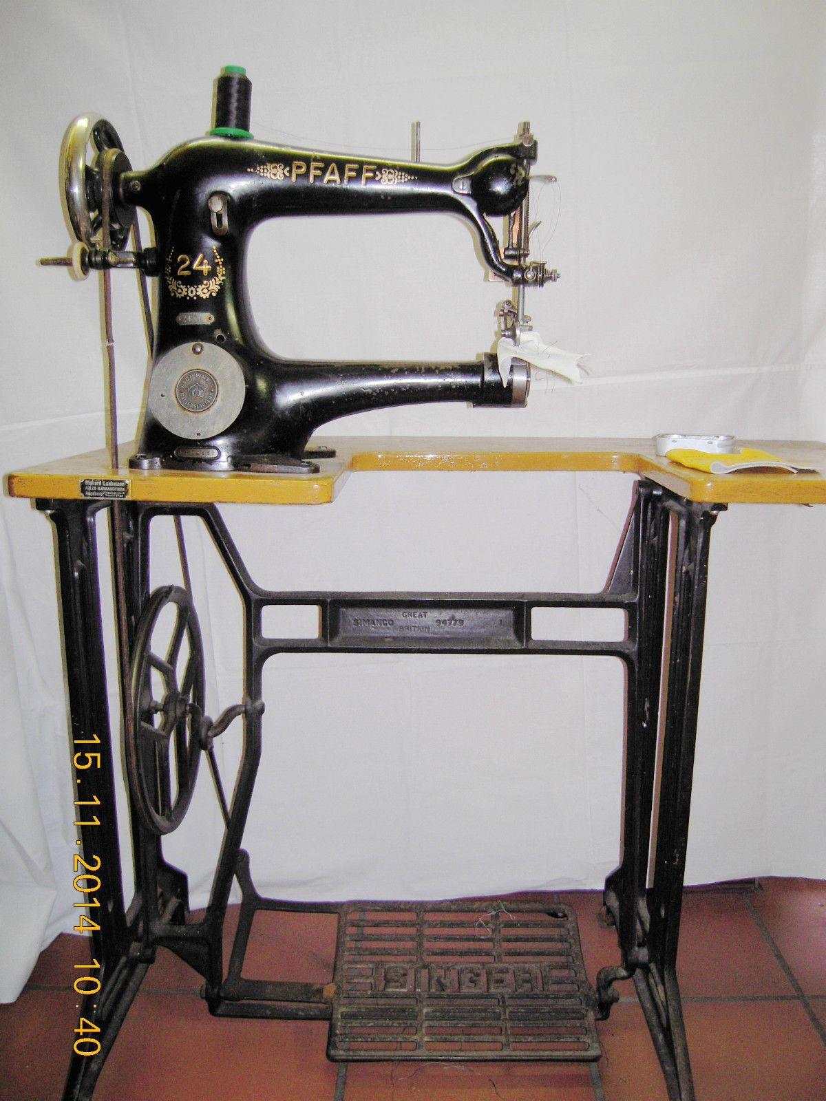 pfaff ledern hmaschine n hmaschine st rke bis 6 mm. Black Bedroom Furniture Sets. Home Design Ideas
