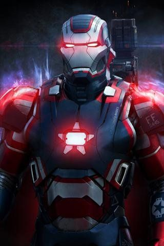 Awesome Iron Man Fond Decran Iphone Mobile Android 431 Check More At