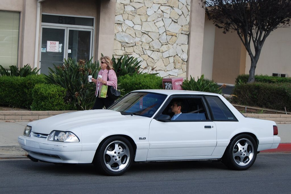 Ford Mustang 5 0 Lx Foxbody Coupe With Svt Cobra Wheels Mustang Notchback Mustang Ford Mustang