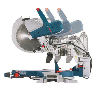 Bosch Gcm12sd Sliding Miter Saw Check Out The Glide Mechanism Big Space Saver Klussen