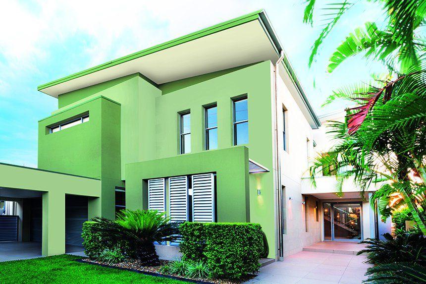 Colores para pintar fachadas exteriores free colores - Opciones para pintar mi casa ...