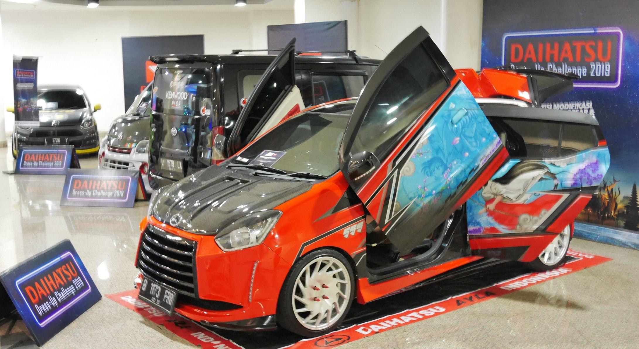 Modifikasi Mobil Ayla 600 Modifikasi Mobil Mobil Daihatsu