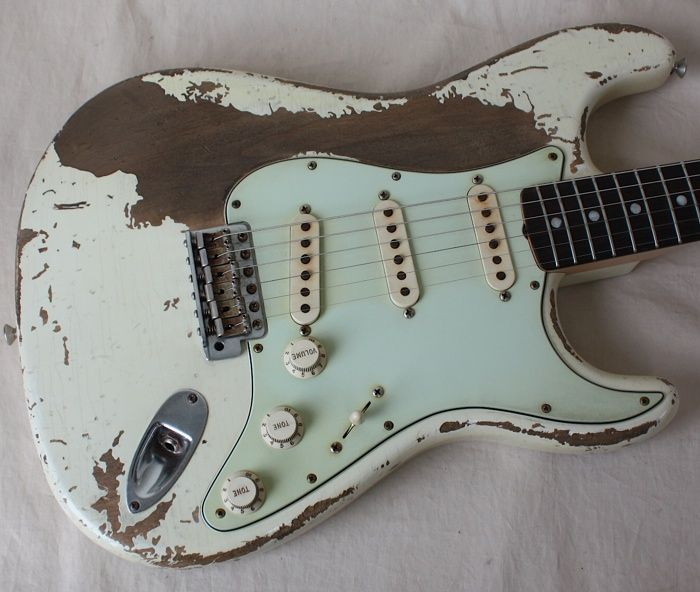 a shabby chic guitar goes well against what guitars should look like rh pinterest com Unique Guitars shabby chic guitars ebay
