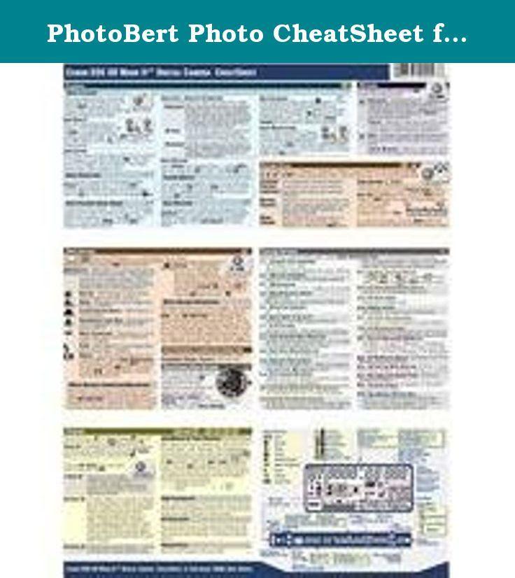 Photobert cheat sheet