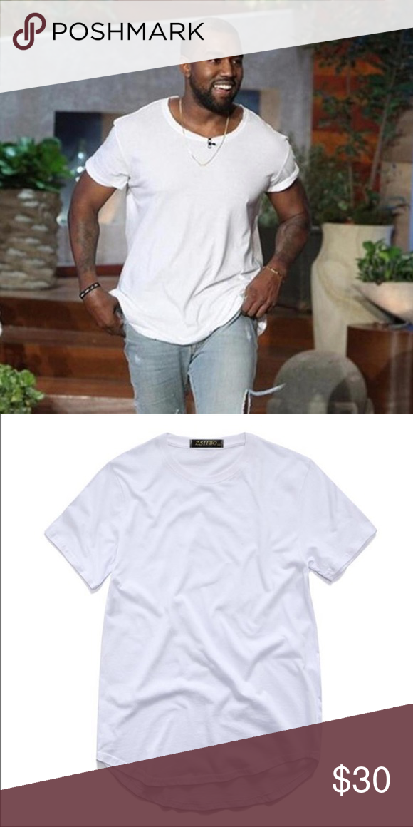 Kanye West Cool Men S T Shirt White T Shirt Same As Kanye West Style Shirts Tees Short Sleeve Kanye West Style Shirts Shirt Style