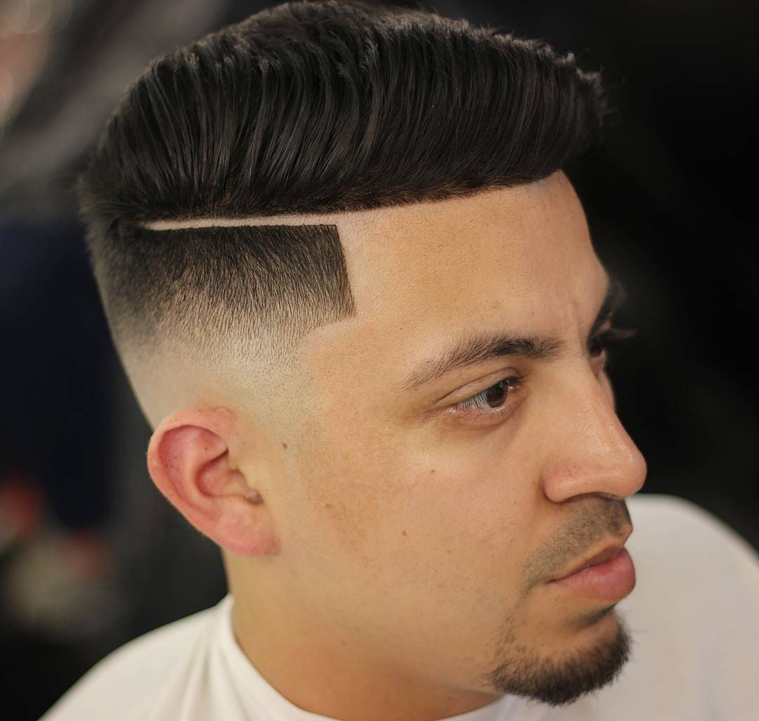 Men's hard part haircut how to style a hard part  awesome hard part haircuts in