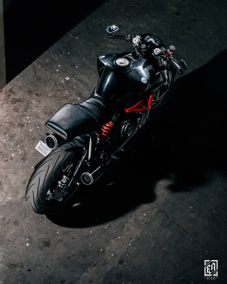 Benelli TNT 600i Cafe Racer by Buraq Motorcycles #motorcycles #caferacer #motos | caferacerpasion.com